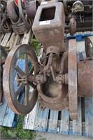 5 HP Jumbo Engine -Cracked Head and broken rocker