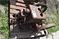 1 and 1/2 HP International M engine -Spark plug
