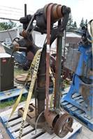 Vintage Blacksmith Shop Drill Press