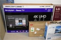 (5) Damaged / Non-Functioning TV's for Parts or