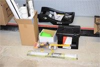 Grp, of Assorted Items - Club, File Box, Accent