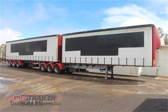 1996 Vawdrey 34 Pallet Curtainsider B Double Set - Truckworld.com.au - Trailers for Sale