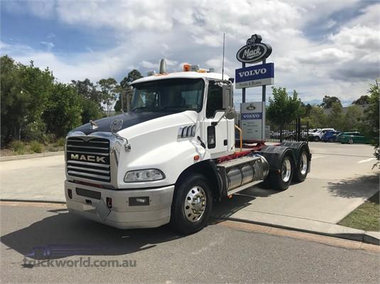2014 Mack Granite Trucks for Sale