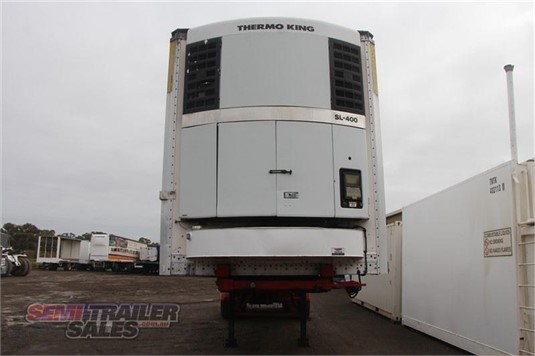1995 Maxi Cube 12 PALLET REFRIGERATED ROLL BACK A TRAILER - Truckworld.com.au - Trailers for Sale