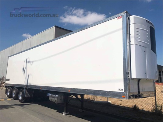 2014 Lucar Refrigerated Trailer - Trailers for Sale