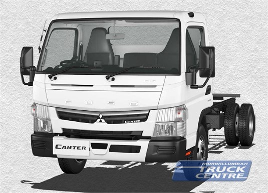 Fuso Canter 4x2 615 Wide Cab MWB 6 Sp. DCT