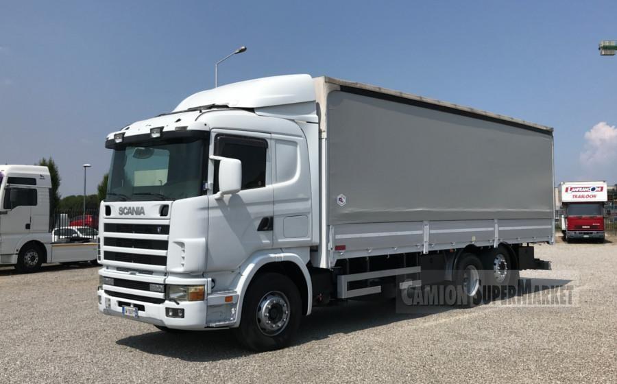 Scania P124.420 Usato 2001 Lombardia