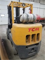 Tcm 8000lbs 2006 Fork Truck With Fork Carriage