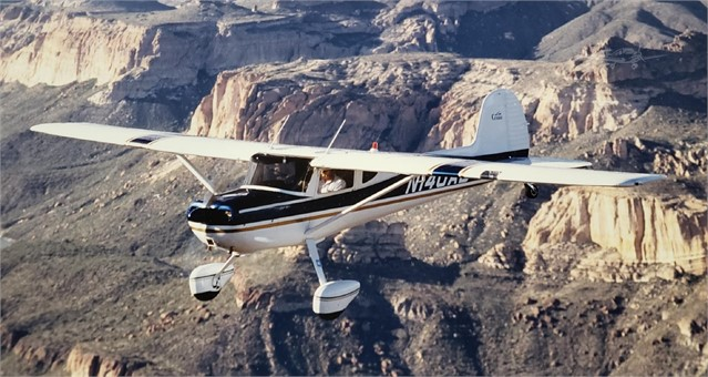 1951 CESSNA 140 For Sale In Cable Airport (KCCB) Upland, California