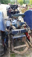 Fordson Major Tractor, Loose, Turns Over, Loc: