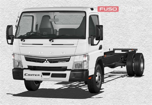Fuso Canter 4x2 815 Wide Cab LWB 5 Sp. MAN