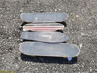 4) SKATEBOARDS Other Items For Sale - 1 Listings