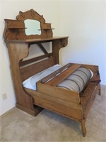 Wood Pull Out Bed With Mattress