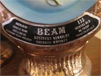 (7) Jim Beam Liquor Bottles