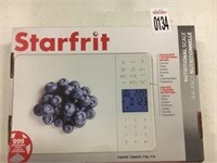 STARFRIT NUTRITION SCALE