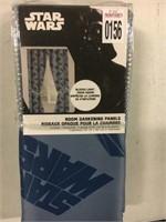 "STAR WARS ROOM DARKENING PANELS 42''X63"""