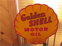 Golden Shell Motor Collection Including (12) Glass