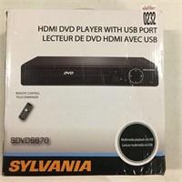 SYLVANIA SDVD6670 HDMI DVD PLAYER WITH USB PORT