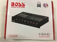 BOSS AUDIO SYSTEMS 4 BAND EQUALIZER