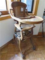 Wood High Chair