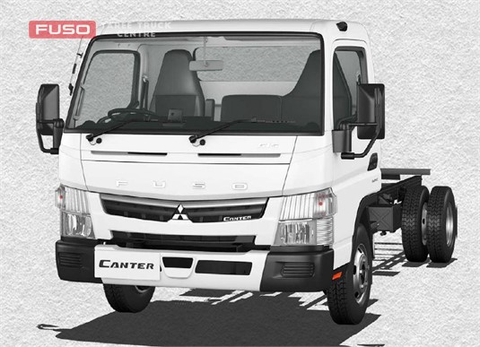 Fuso Canter 4x2 615 Wide Cab MWB 5 Sp. MAN