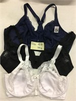 ASSORTED BRAS SIZES 34G/40D