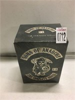 SONS OF ANARCHY COMPLETE SERIES