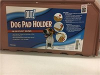 """OUT! DOG PAD HOLDER 21""""X21"""""""