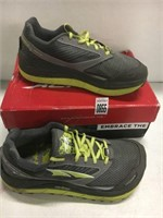 ALTRA MENS RUNNING SHOES SIZE 8