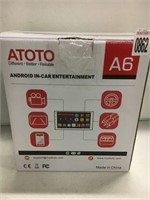 ATOTO ANDROID IN CAD ENTERTAINMENT