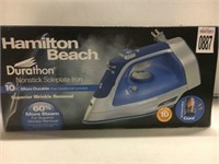 HAMILTON BEACH DURATHON NONSTICK SOLEPLATE IRON