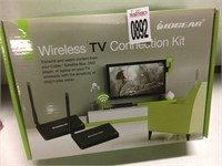 IOGEAR WIRELESS TV CONNECTION KIT