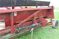 Case 1083 8 Row Corn Head w/header trailer