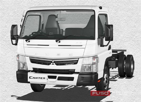 Fuso Canter 4x2 615 Wide Cab LWB 5 Sp. MAN
