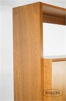 Danish Walnut Wall Unit with Secretary