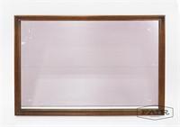 Walnut Broyhill Saga Large Mirror