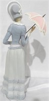 Lladro Lady with pink parasol