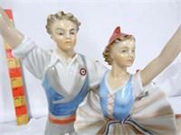 Porcelain dancers