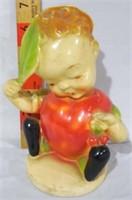 6 Fruit Kids 1940s by Peedee