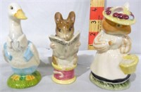 12 Beatrix Potter figurines