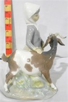 Lladro Girl with Goat