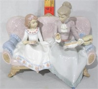 Lladro An Embroidery Lesson #06713