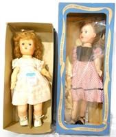 2 dolls 1 Horsmans Fairy Skin doll