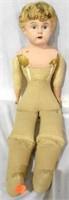 1 Doll American Doll Co, compo head cloth body