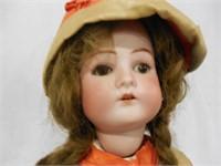 """22"""" Bisque head Brown & Orange"""