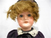 Bisque head compo body Doll