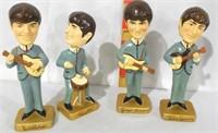 4 ea 1964 Beatles Car Mascots