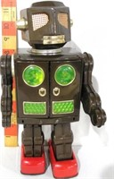 Japanese Tin Litho Robot, battery operated