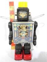 Japanese Tin Litho Robot Astronaut