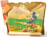 Linemar Walt Disney tint celluloid tricycle
